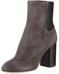 Rag & Bone - Agnes Suede Block-heel Boots - Lyst