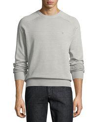 Original Penguin - Feeder-stripe Crewneck Sweater - Lyst
