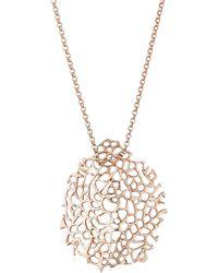Alex Woo - Narissa Small Crescent Necklace - Lyst