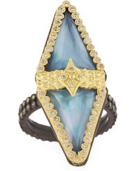 Armenta - Old World 18k Triplet Diamond Ring - Lyst