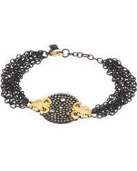 Armenta - Old World 18k Diamond & Sapphire Bracelet - Lyst