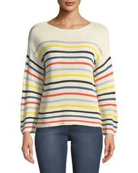 Philosophy - Lily Yarn Striped Sweater - Lyst