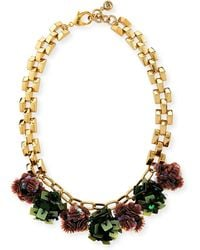 Lulu Frost - Rumba Sequined Statement Necklace - Lyst