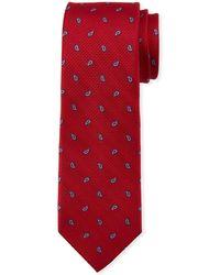 Neiman Marcus - Spaced Pine Paisley Silk Tie - Lyst