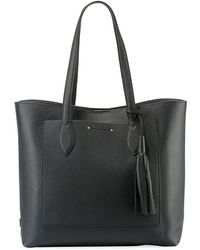 Cole Haan - Key Item Leather Tote Bag With Tassel - Lyst