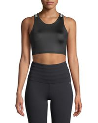 Body Language Sportswear - Neli Mesh Strap Bra Top - Lyst