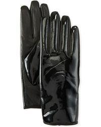 Karl Lagerfeld - Glossy Gloves - Lyst