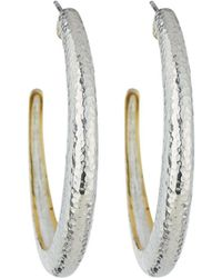 Gurhan - Hoopla Large Tapered Hoop Earrings - Lyst