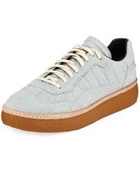Alexander Wang - Eden Denim Low-top Sneaker - Lyst