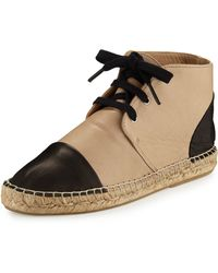 Charles David - Harlow Leather Espadrille High-top Sneaker - Lyst