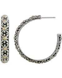 John Hardy - Jaisalmer Big Hoop Earrings - Lyst