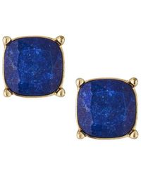 Lydell NYC | Cushion-cut Cz Speckle Stud Earrings | Lyst