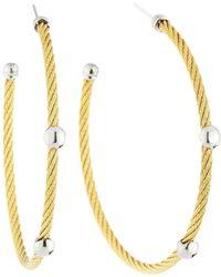 Alor - Cable Hoop Earrings - Lyst