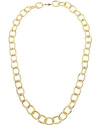 A.V. Max - Handmade Gold-plated Link Necklace - Lyst