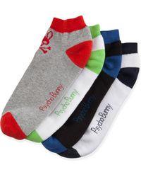 Psycho Bunny - Four-pack Low-cut Sock Set - Lyst