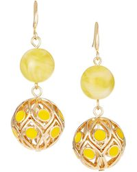 Lydell NYC - Double-drop Earrings - Lyst