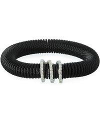 Alor - Kai Coiled Cable Bracelet W/ Diamonds - Lyst