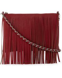 Posse | Dara Fringe Leather Crossbody Bag | Lyst