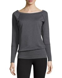 Nux - Mel Long-sleeve Ribbed Sweater - Lyst
