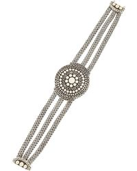 John Hardy - Dotted Three-chain Bracelet - Lyst