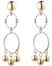 Eddie Borgo - Barbell Chandelier Earrings - Lyst