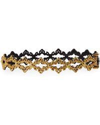 Armenta - Old World Open Scroll Huggie Bracelet - Lyst