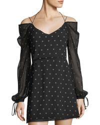 The Fifth Label - Printed Chiffon A-line Dress - Lyst