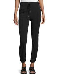CoSTUME NATIONAL - Drawstring-waist Skinny Jogger Pants - Lyst