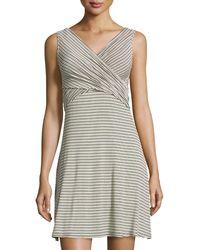 Amadi - Lani Striped Dress - Lyst