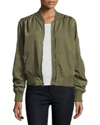 On The Road Charmeause Bomber Jacket