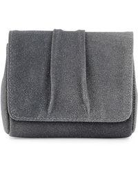 Lauren Merkin | Mini Caroline Stingray-embossed Leather Clutch Bag | Lyst