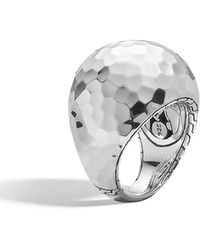 John Hardy - Palu Silver Dome Ring - Lyst