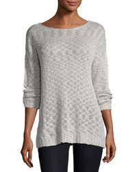 On The Road - Ina Lace-up Back Sweater - Lyst