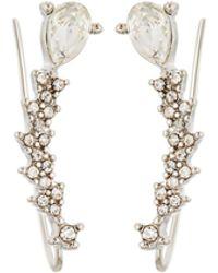 Lydell NYC - Crystal Crawler Earrings - Lyst