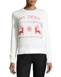 Signorelli - Oh Deer-graphic Sweater - Lyst