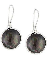 Ippolita - Wonderland Lollipop Earrings In Black Shell Doublet - Lyst