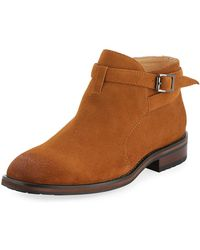 English Laundry - Formby Suede Ankle Boot - Lyst
