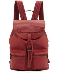 c14f9d2abf94 Longchamp - 3d Leather Drawstring Flap-top Backpack - Lyst