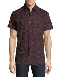 Sovereign Code - Men's Stromburg Camo Short Sleeve Sport Shirt - Lyst