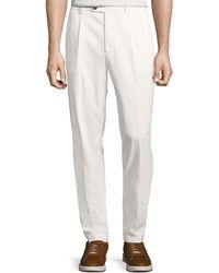 Brunello Cucinelli - Men's Leisure Fit Cotton Trousers - Lyst