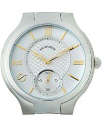 Philip Stein - Stainless Steel Large Round Two-hand Watch Head - Lyst