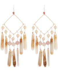 Nakamol - Pearl & Teardrop Dangle Earrings - Lyst