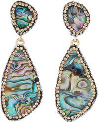 Nakamol - Abalone Dangle Earrings - Lyst