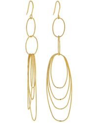 Kenneth Jay Lane | Multi-oval Dangle Earrings | Lyst