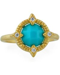 Freida Rothman - Amazonian Allure Single-stone Cocktail Ring Size 6 - Lyst