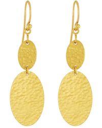 Gurhan - Mango 24k Double-drop Earrings - Lyst