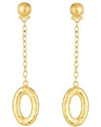 Gurhan - Galahad Long Chain Drop 24k Earrings - Lyst