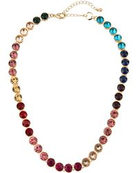 Lydell NYC - Single-strand Rainbow Necklace - Lyst