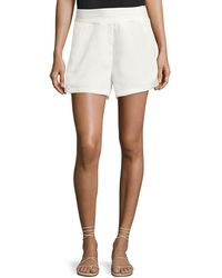 Bishop + Young - Ana Woven Pocket Shorts - Lyst