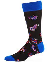 Bugatchi - Men's Paisley Jacquard Socks - Lyst